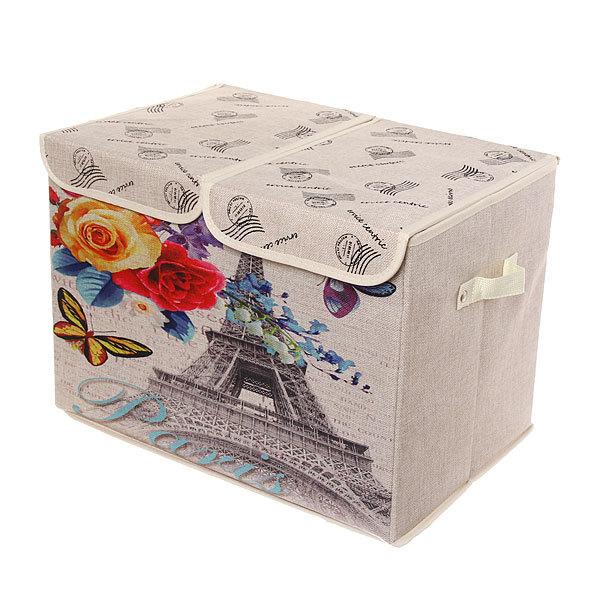 Коробка д/хранения вещей 47*31*34 C57 купить оптом и в розницу