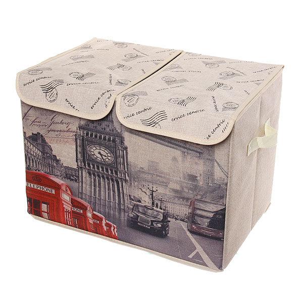 Коробка д/хранения вещей 47*31*34 C59 купить оптом и в розницу
