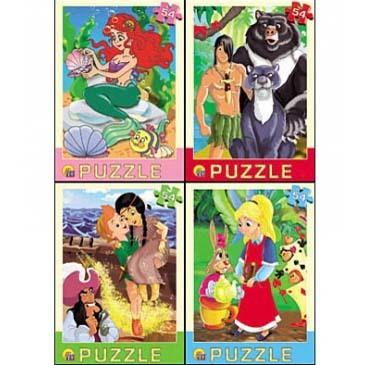Пазл 54 Любимые мультфильмы П54-7174 купить оптом и в розницу