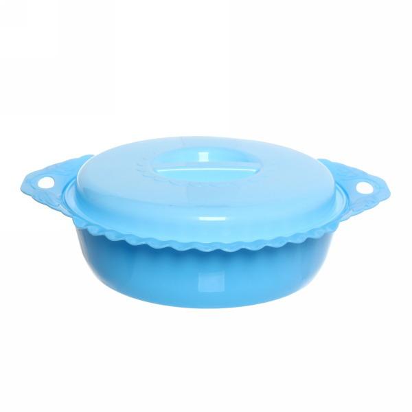Салатник пластиковый с крышкой 29,5*7см купить оптом и в розницу