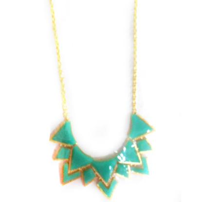 Колье ″Латифа-треугольники″, цвет микс купить оптом и в розницу