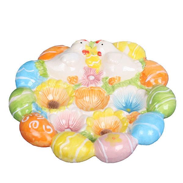 Подставка для яиц ″Курочки в цветах″ купить оптом и в розницу