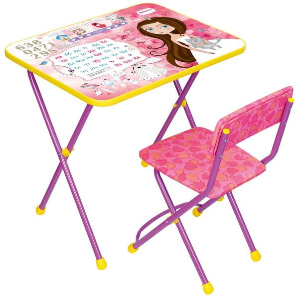 Набор детской мебели ″Познайка.Маленькая принцесса″ складной, мягкий стул КП2/17 купить оптом и в розницу