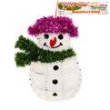 Украшение новогоднее настенное 35*24 см Снеговик купить оптом и в розницу