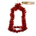 Украшение новогоднее настенное 37*22 см Колокольчик купить оптом и в розницу