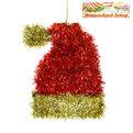 Ёлочная игрушка 16*13см ″Новогодний колпачек ″мишура купить оптом и в розницу