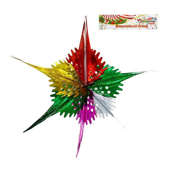 Украшение новогоднее Звездочка d-41см 9222-21 купить оптом и в розницу