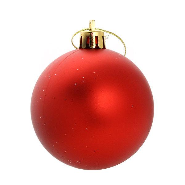 Новогодние шары ″Падающая звезда″ 6см (набор 12шт.) купить оптом и в розницу