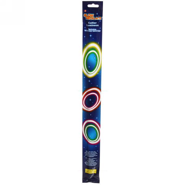 Ожерелье светящееся, 58 см, микс цветов купить оптом и в розницу