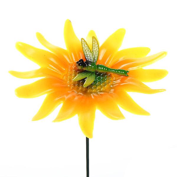 Статуэтка садовая на спице в ассортименте стреказа, бабочка, бож.коровка 10см купить оптом и в розницу