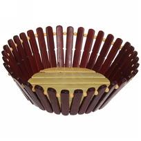 Корзинка бамбуковая -20 см купить оптом и в розницу