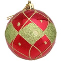 Новогодние шары ″Румба″ 8см (набор 2шт.) купить оптом и в розницу