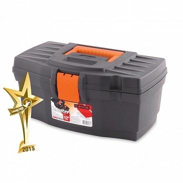 """Ящик для инструментов Master Economy 12"""" серо-свинцовый/ оранжевый *18 купить оптом и в розницу"""