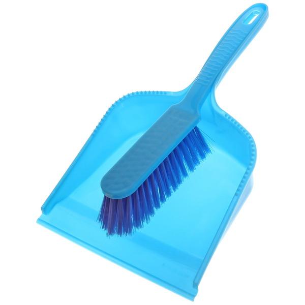 Набор для уборки, щетка-сметка и совок для мусора 33х21см 97-102 купить оптом и в розницу