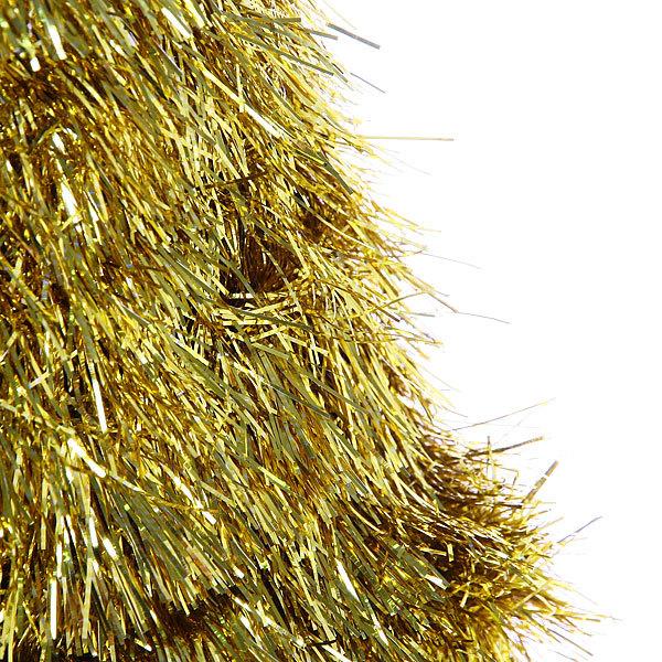 Елка фольгированная 48 см золото купить оптом и в розницу