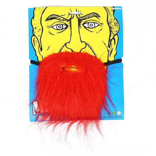 Борода карнавальная красная″ 985-1 купить оптом и в розницу