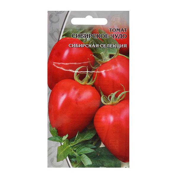 Семена Томат Сибирское чудо цв/п 0,05гр купить оптом и в розницу