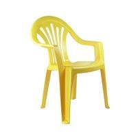 Кресло детское (жёлтый)(уп.5) (Октябрьский) купить оптом и в розницу