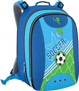 Рюкзак молодежный Erich Krause Soccer ( модель EasyGo ) голубой купить оптом и в розницу