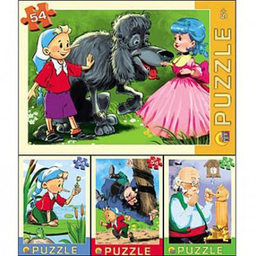 Пазл 54 Любимая сказка П54-3666 купить оптом и в розницу
