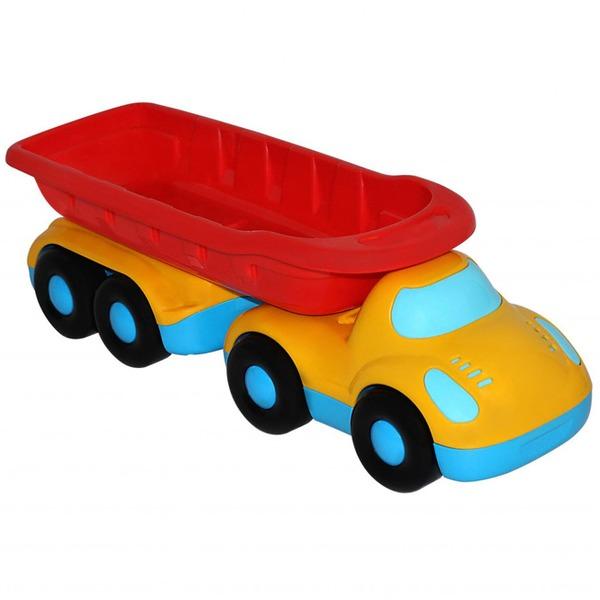 Автомобиль Дружок самосвал с прицепом 48486 П-Е /9/ купить оптом и в розницу