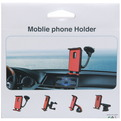 Держатель для навигатора и планшета, автомобильный зажим, крепление на решетку вентилятора купить оптом и в розницу