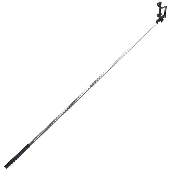 Монопод для селфи 110см, Bluetooth, ручка резина купить оптом и в розницу