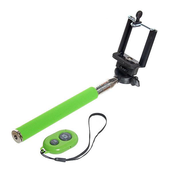 Монопод для селфи 110см, Bluetooth с пультом, ручка резина купить оптом и в розницу