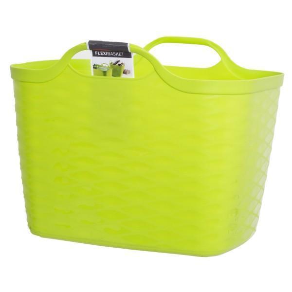 Корзинка FLEXI BASKET 27L зелен./ *6 шт Curver 430*350*330 купить оптом и в розницу