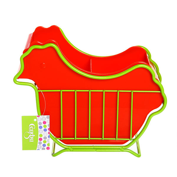 Подставка для столовых приборов ″Курочка″ 17*21*9 см купить оптом и в розницу
