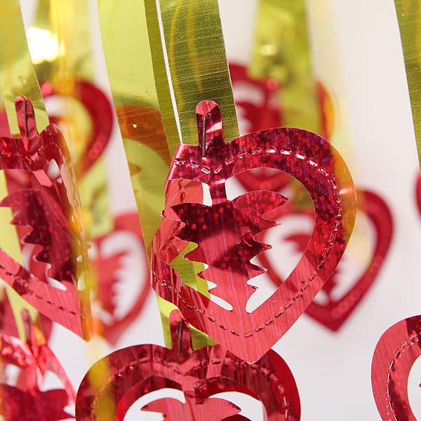 Украшение новогоднее фольгированное Фейерверк 50 см с елочками купить оптом и в розницу
