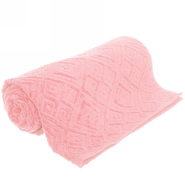 Махровое полотенце 50*100см бледно-розовое жаккард ЖК100-2-008-029 купить оптом и в розницу
