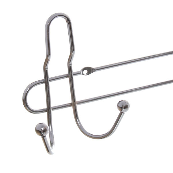 Вешалка настенная 8 крючков 54х12см G16-8 купить оптом и в розницу