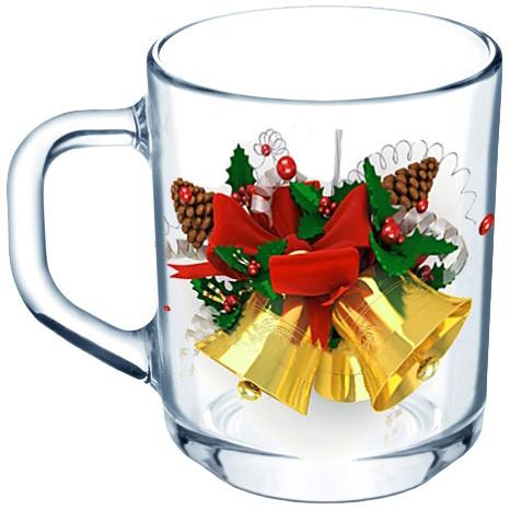 Кружка 250мл ″Новогодний подарок″ 55029 купить оптом и в розницу