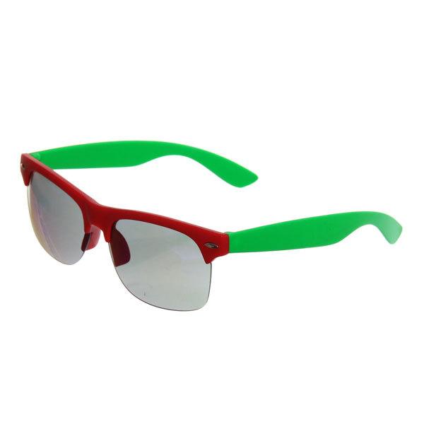 Очки солнцезащитные ″Стиль-коллекция зеркальные″, оправа двухцветная купить оптом и в розницу