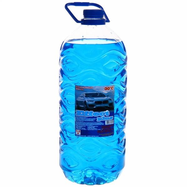 Жидкость для стеклоочистителя 4л -30С ″Эффект+″ купить оптом и в розницу