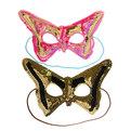 Маска карнавальная картонная ″Бабочка″ 1шт купить оптом и в розницу