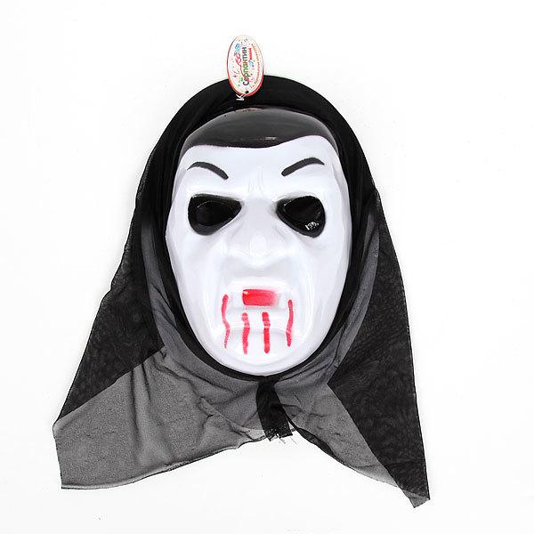 Маска карнавальная пластиковая ″Вампир″ 020-1 купить оптом и в розницу