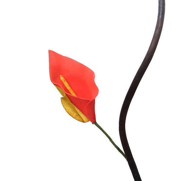 Цветок искусственный 150см ветка Каллы купить оптом и в розницу