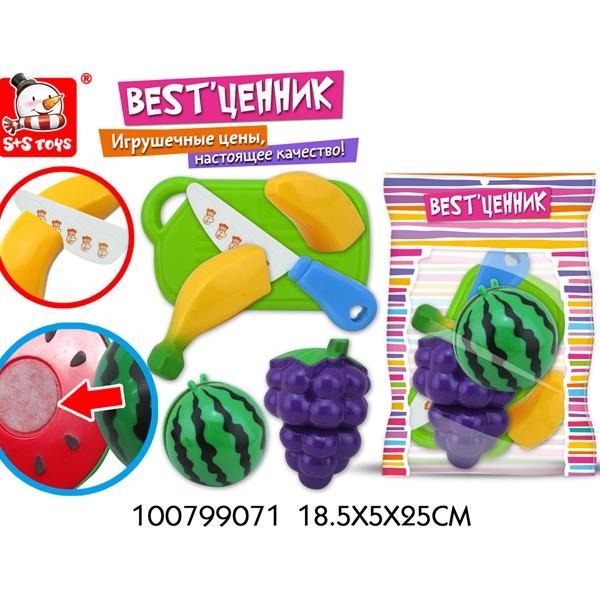 """Набор фруктов для резки 100799071 BEST""""ценник в пак. купить оптом и в розницу"""