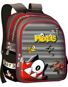 Ранец школьный Limpopo Super bag Mixels EVA ортоп.спинка красный купить оптом и в розницу