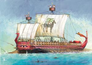 Сб.модель 9030 Карфагенский корабль купить оптом и в розницу