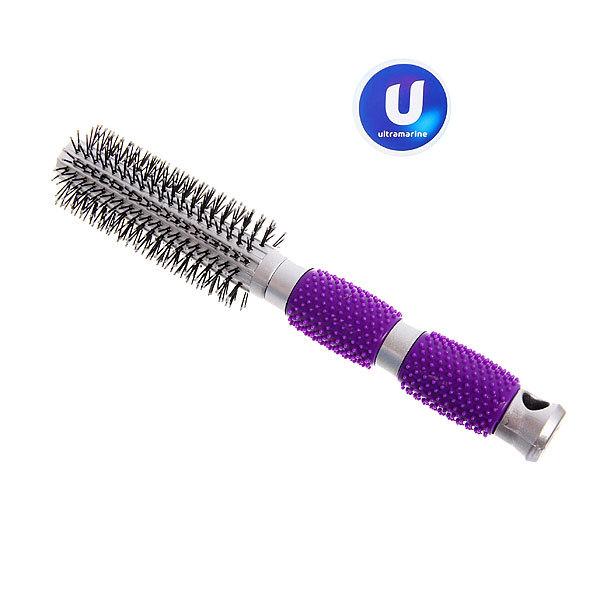 Расческа брашинг ″Ультрамарин″, цвет ручки фиолетовый, 23,5 см купить оптом и в розницу