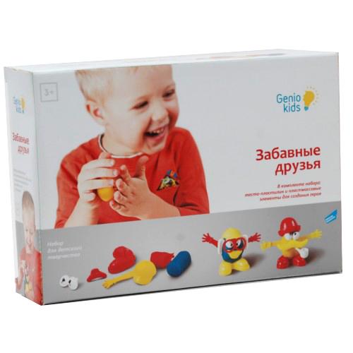 Набор ДТ Тесто для лепки Забавные друзья TA1026 /Genio Kids купить оптом и в розницу