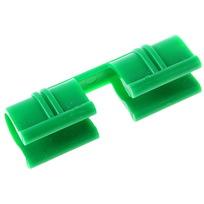 Зажим для крепления пленки к дугам диаметр 10 мм, набор 20 шт купить оптом и в розницу