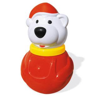 Неваляшка Белый медведь мал. 01678 п/п /14/ купить оптом и в розницу