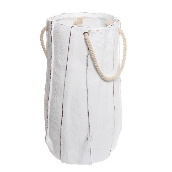 Ваза керамическая садовая ″Бумажный пакет″ 31см 163А купить оптом и в розницу