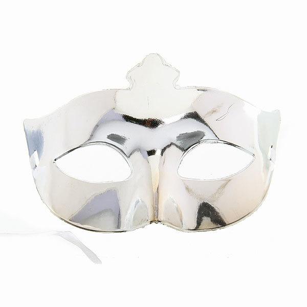 Маска карнавальная пластиковая половинка ″Леди″ 546-5 купить оптом и в розницу