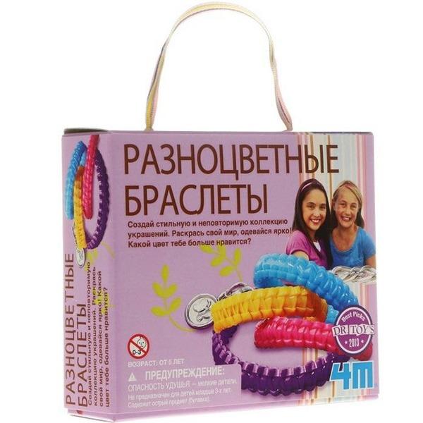 Набор ДТ Разноцветные браслеты 00-04643 купить оптом и в розницу