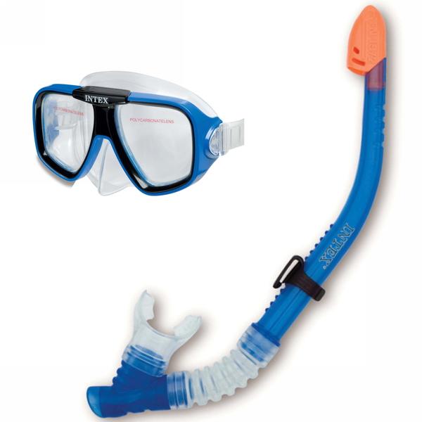 Набор для подводного плавания Reef Rider: маска,трубка Intex (55948) купить оптом и в розницу